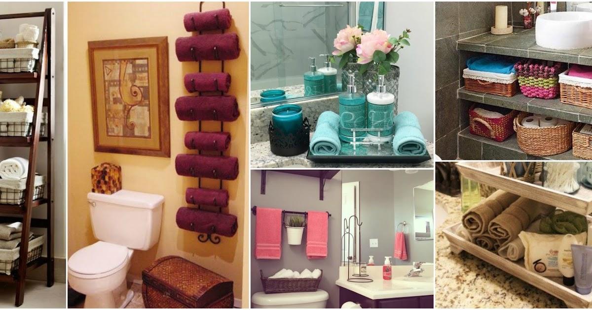 12 ideas decorativas para poner las toallas en el ba o for Ideas decorativas home banos