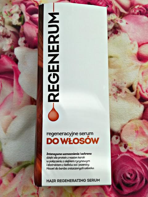 Regeneracyjne serum do włosów Regenerum - recenzja :*