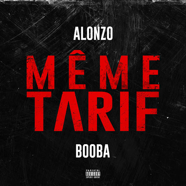 Alonzo - Même tarif (feat. Booba) - Single Cover