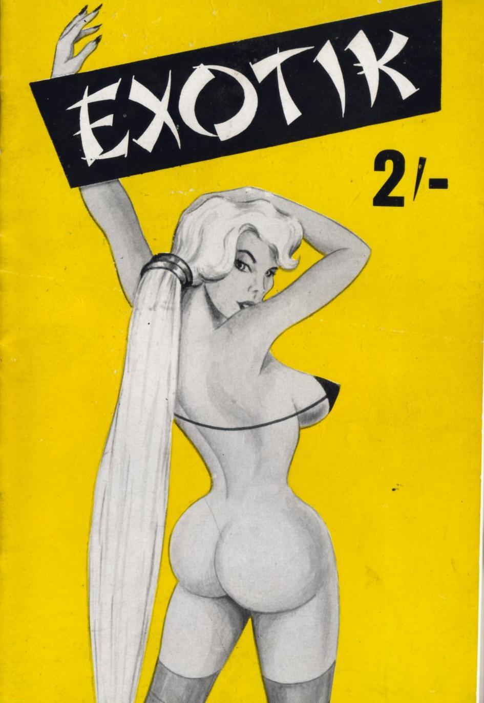 Retrospace Vintage Mens Mags 17 Girlie Magazines A  Z