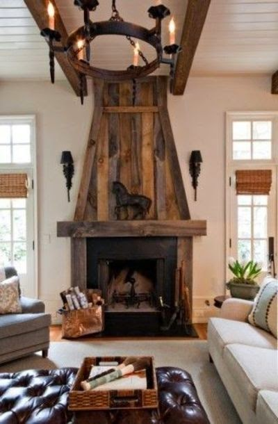 Willow Decor My Return Barn Wood Fireplace Surrounds