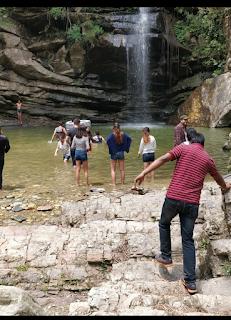 Mukteshwar's Bhalu gaad waterfall image