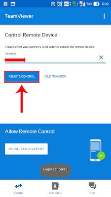 Cara Mengontrol Komputer Jarak Jauh Dengan HP Android/PC