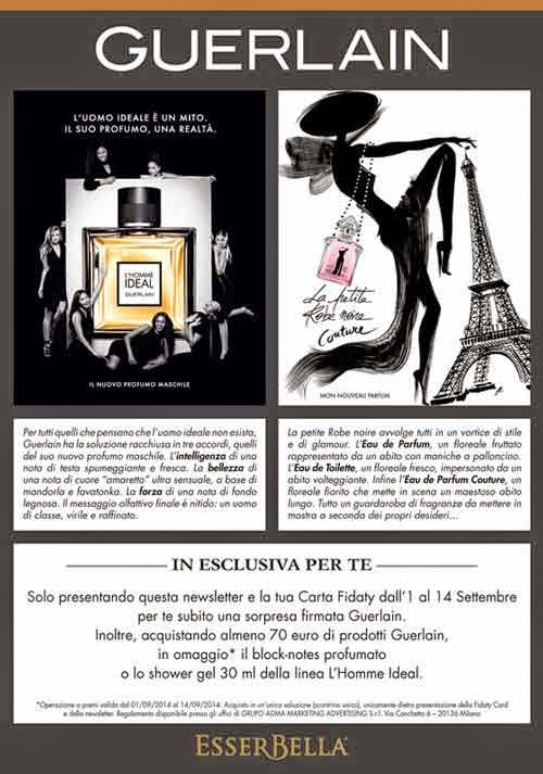 Guerlain coupon sorpresa