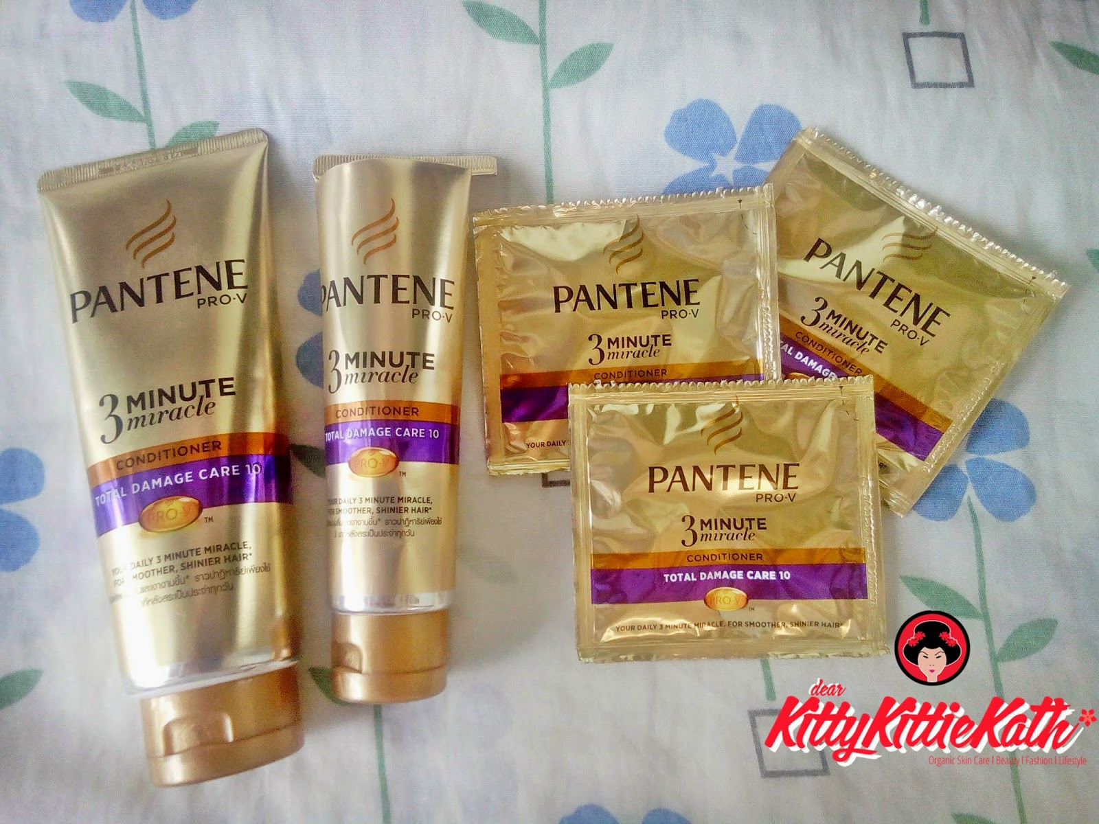Product Review: Pantene 3 Minute Miracle Conditioner  Dear Kitty Kittie Kath Top Lifestyle
