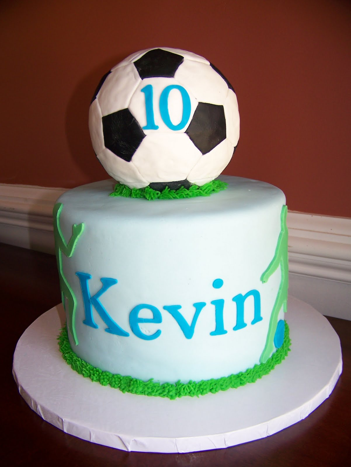The Red Headed Baker Twins 10th Birthday Cakes Puppy And