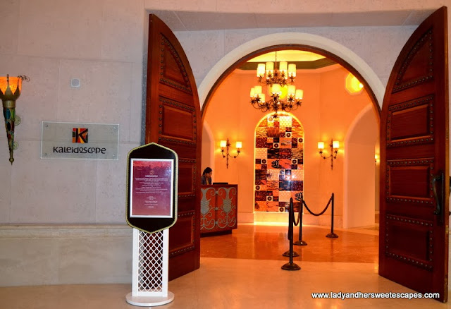 Kaleidoscope Restaurant in Atlantis The Palm