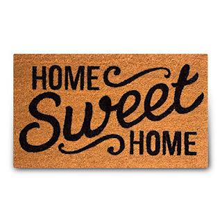 home sweet home mat