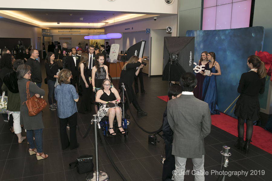 Jeff Cable's Blog: Annual UCSF hospital prom for their teen patients