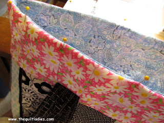 How to make a Quilt Ladies Tote Bag Tutorial