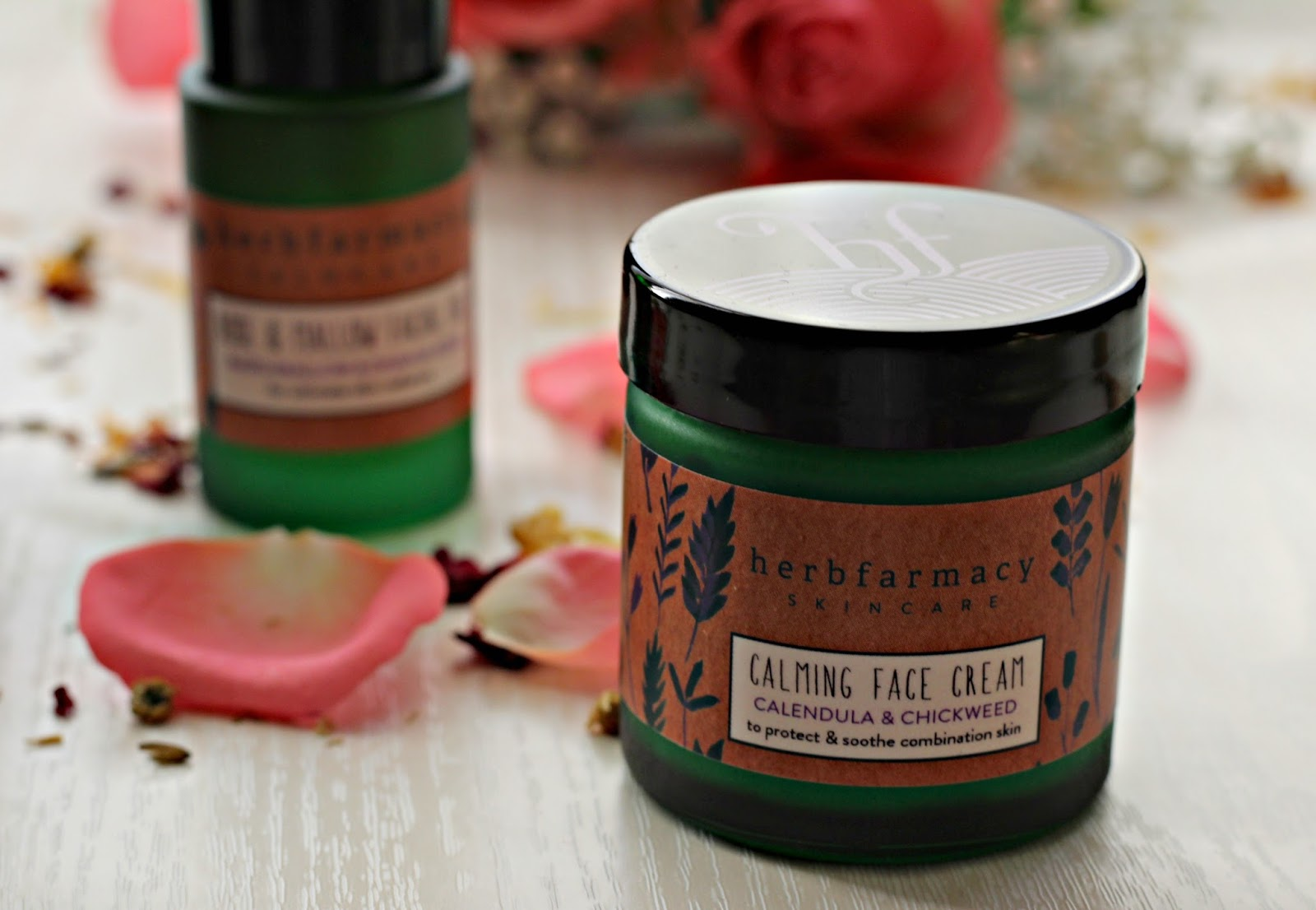 Herbfarmacy Calming Face cream review