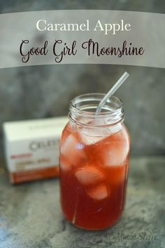 Caramel Apple Good Girl Moonshine #caramel #icedrink