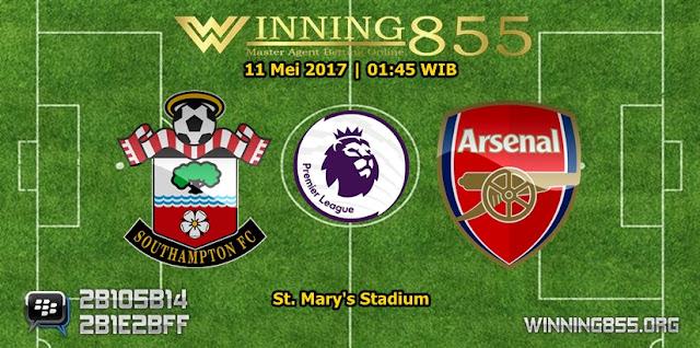 Prediksi Skor Southampton vs Arsenal 11 Mei 2017