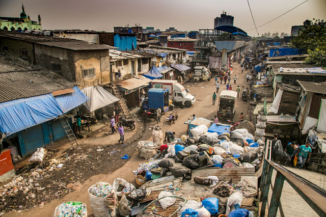 dharavi walk slum mumbai streets