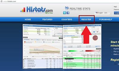 Buka histats.com