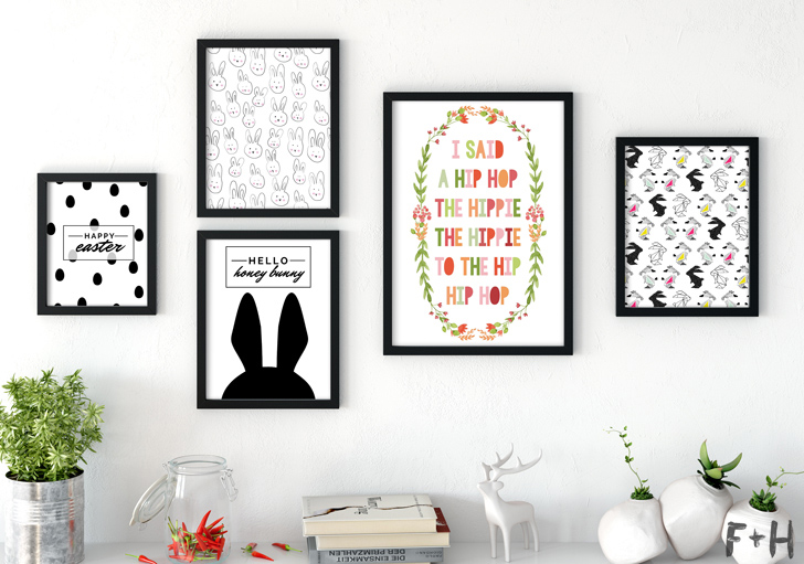 25 Modern Easter Printables - Fox + Hazel