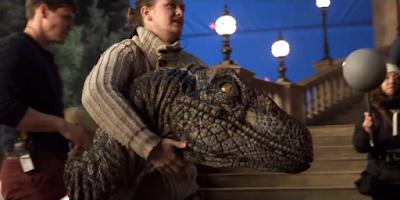 Jurassic World El reino caído detrás de las cámaras