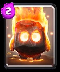 Carta dos Espíritos de Fogo de Clash Royale - Cards Wiki