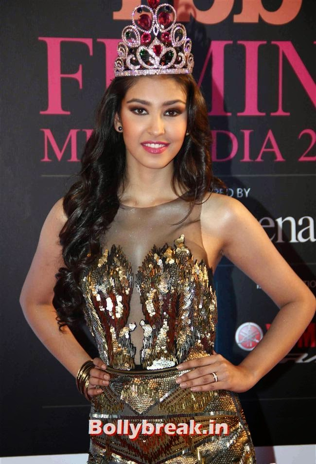 Navneet Kaur Dhillon, Femina Miss India 2014