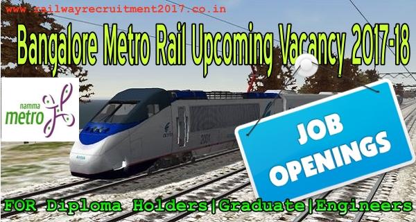 Bangalore metro recruitment 2017