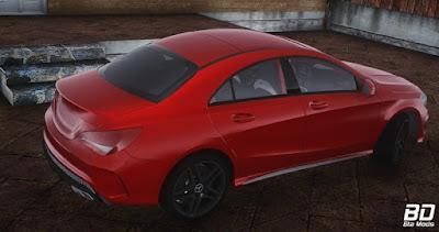 Download mod carro de luxo Mercedes Benz CLA 250 AMG para o jogo  GTA San Andreas.