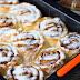 Cinnamon rolls | rollos de canela glaseados sin lactosa