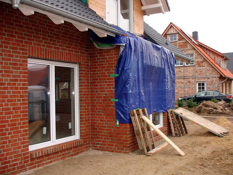 Erker Und Balkon Plane Als Regenschutz Bautagebuch Isernhagen