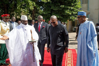 Buhari, ECOWAS leaders beg Gambian President to concede defeat