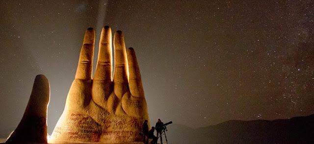 Mano del desierto - Hand of Desert - deserto do atacama