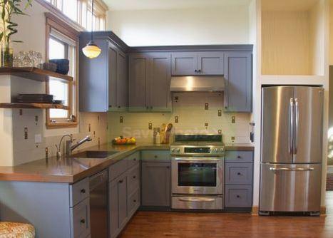 Tủ bếp mang lại vẻ đẹp hiện đại, tính linh hoạt tổng thể trong việc sử dụng