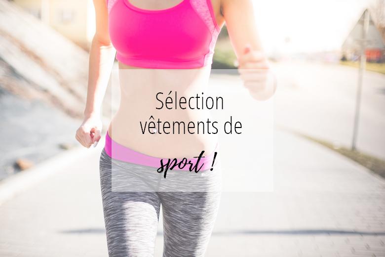 Sélection de vêtements de sport