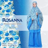 Mukena Bali Rosanna blue muda
