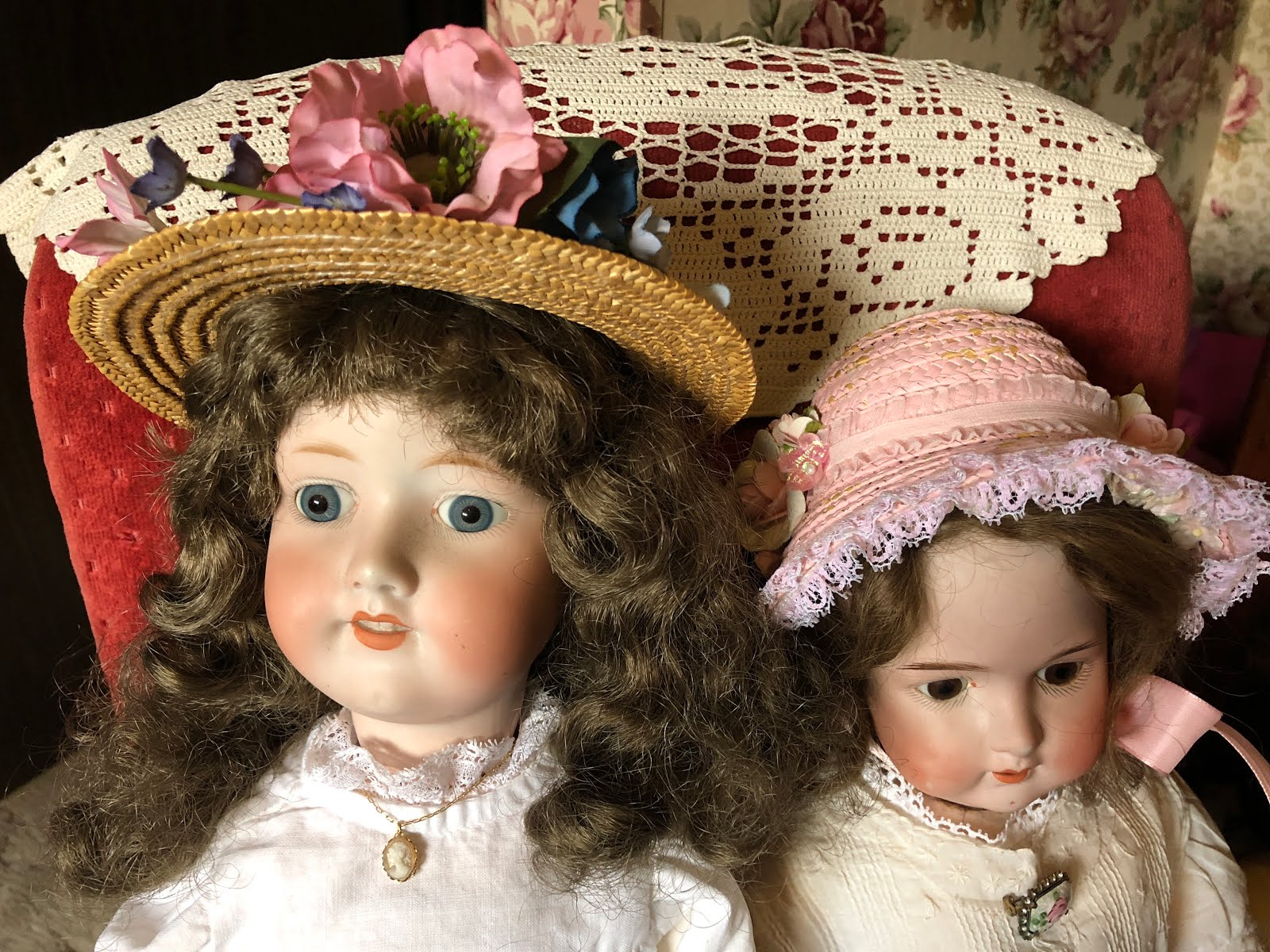 My Dolls Dressed for Spring