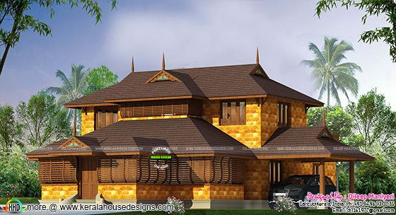 Traditional laterite stone house