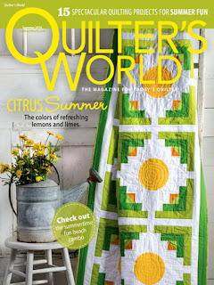 Enter to Win a Quilter's World Summer 2018 Magazine!