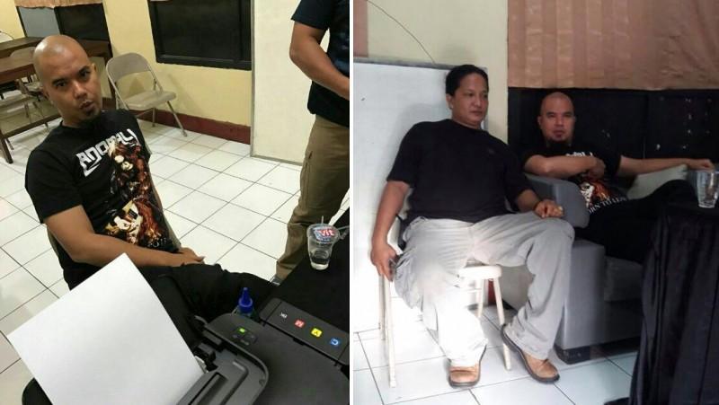 Ahmad Dhani diperiksa polisi