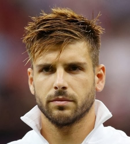 Soccer Player Hairstyles January 2014