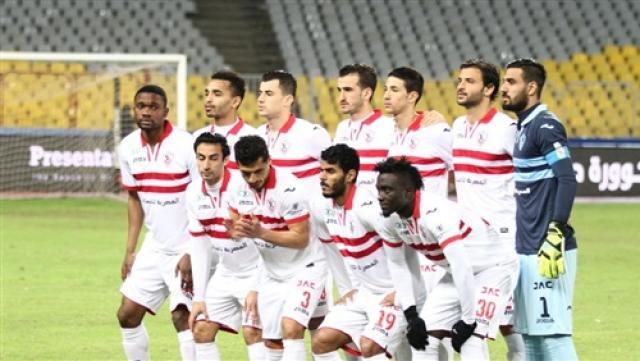 قائمة نادي الزمالك امام وادي دجلة اليوم 14-2-2018 في الدوري المصري