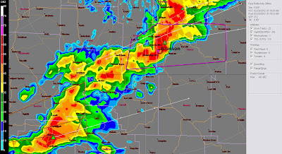 Capt Spaulding S World Severe Storms Rake Kansas City