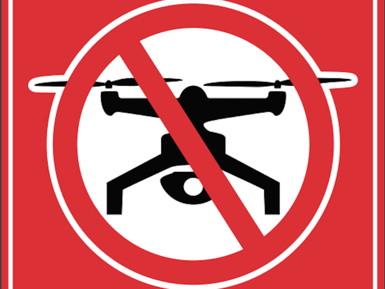 Restrictions on Drone Usage in 'No-Drone Zones':