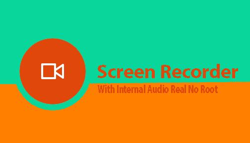 Screen recorder with internal audio apk