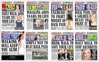 express front pages