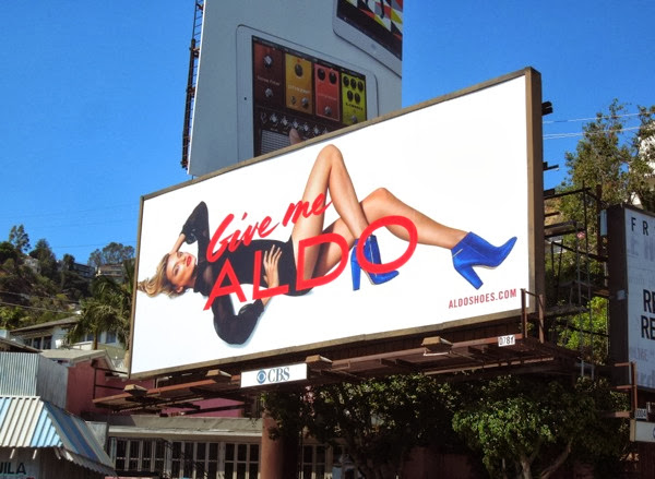 Give me Aldo Shoes FW 2013 billboard
