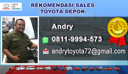 Rekomendasi Sales Toyota Depok
