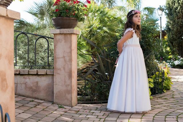 primera comunión 2017 vestidos tul niña trajes niño coronitas invitadas