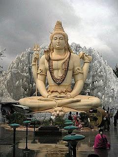 भगवान शिव की मूर्ति, बेंगळूरू