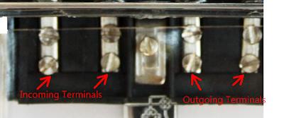 terminal of energy meter