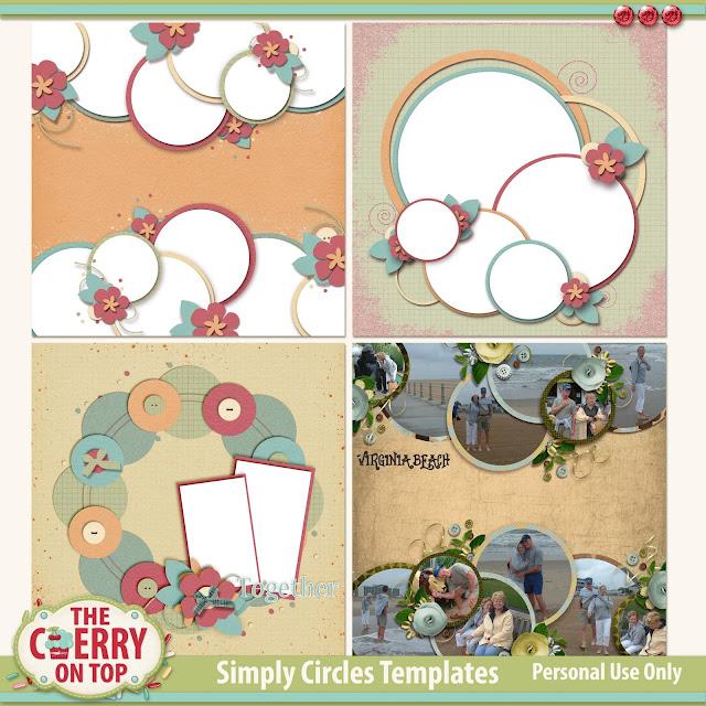 Simply Circle Templates