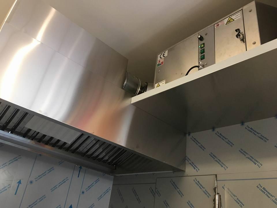 Abbattitori di fuliggine depuratori di fumi per forni a for Abbattitore fumi senza canna fumaria