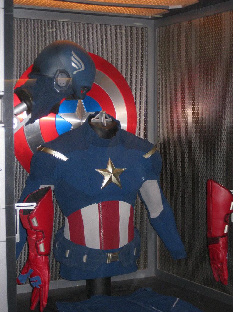 Im 225 Genes Del Traje Del Capit 225 N Am 233 Rica En The Avengers